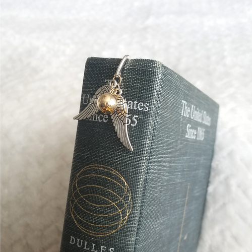 Golden Snitch Bookmark