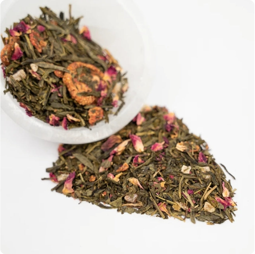 Tropical Passionberry Green Loose Leaf Tea