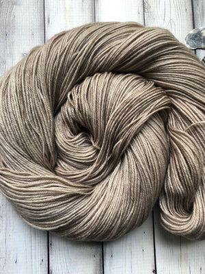 tan sock yarn