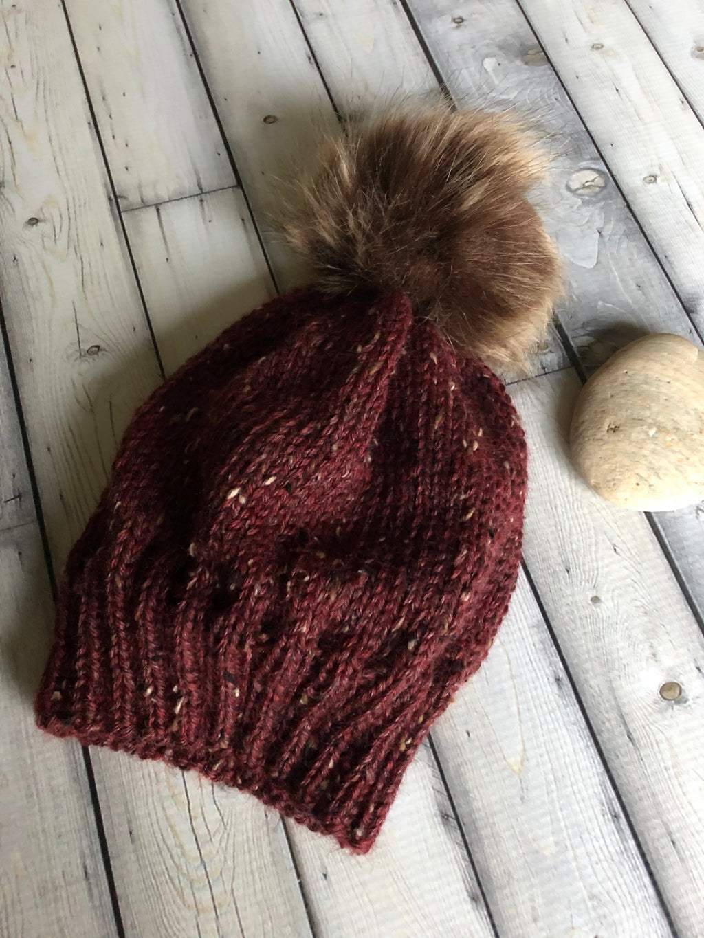 pompom beanie for kids