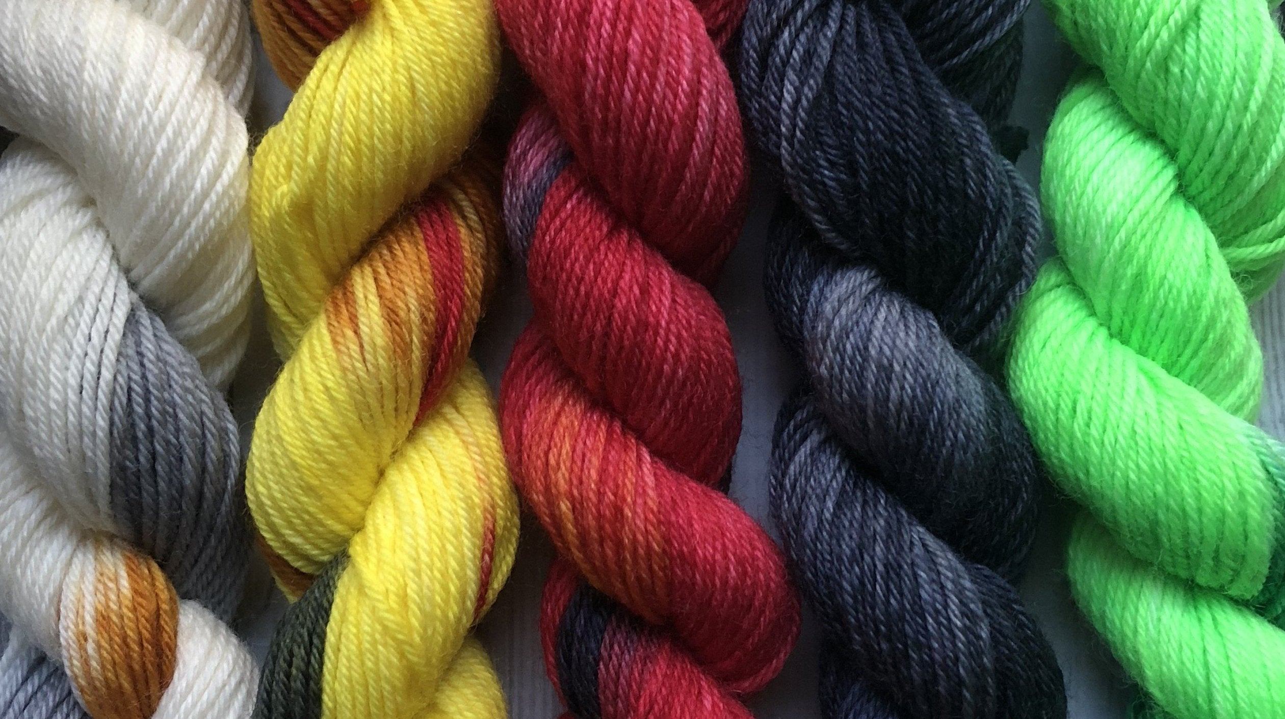 Sock Yarn Mini Set - Mad Birds