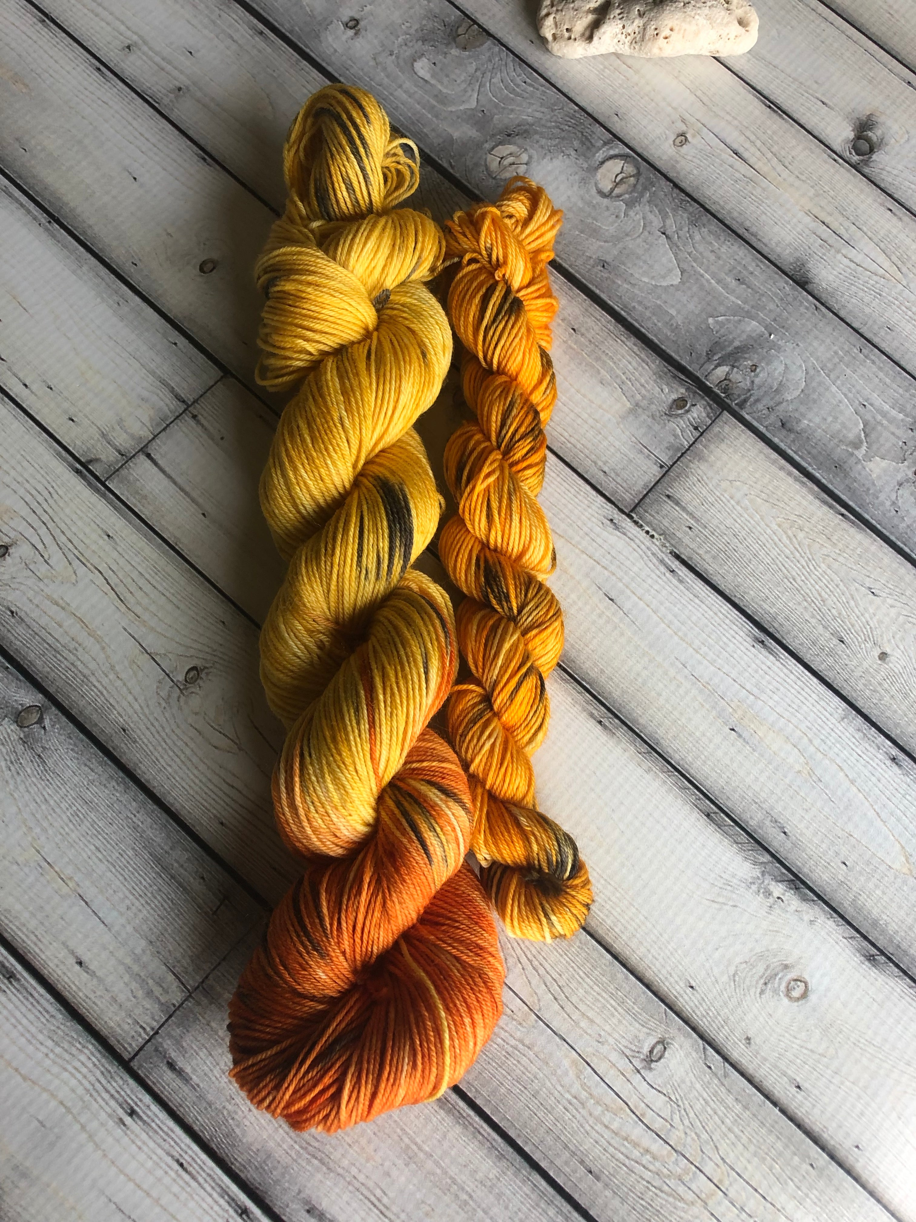 indie dyed sock yarn