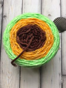 Worsted Weight Gradient Yarn - Autumn Sprout