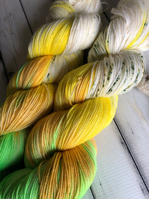 spring colored yarn