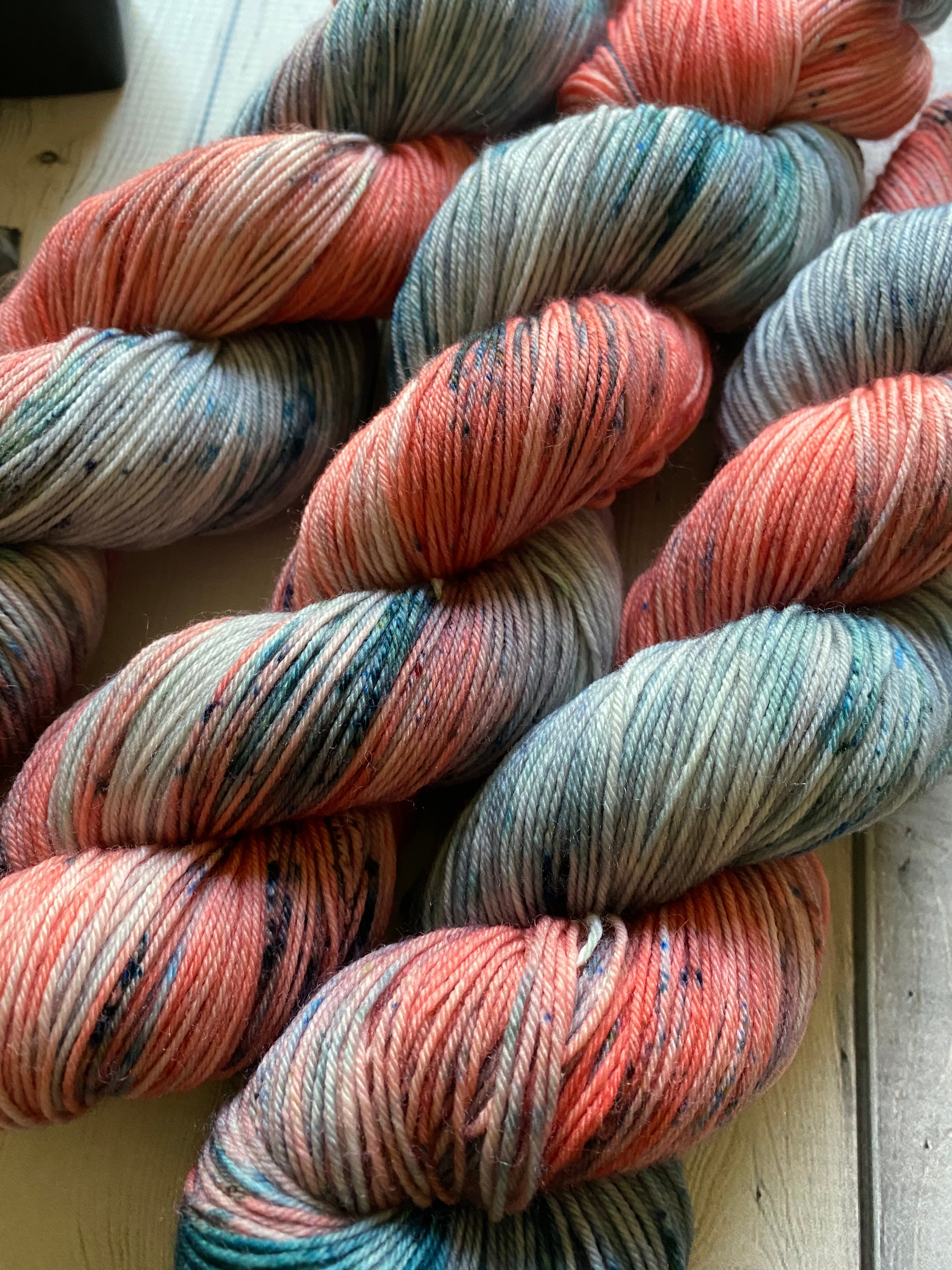speckled sock yarn