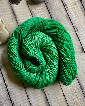 emerald sock yarn