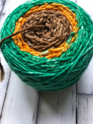 Worsted Weight Gradient Yarn - Scarecrow