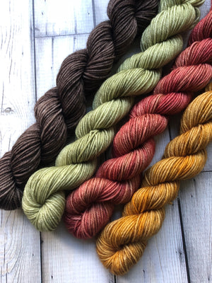 semi solid sock yarn