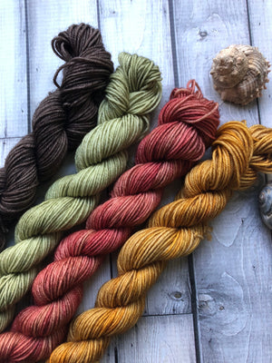 sock yarn mini skeins