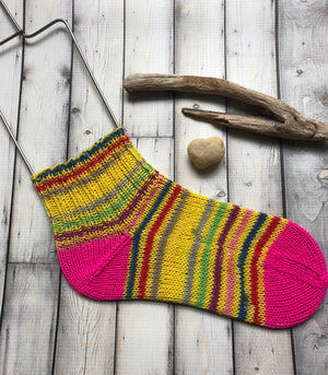 Hand Knit Ankle Socks