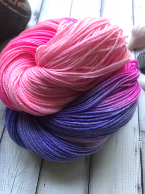 Sock Yarn - First Day of School