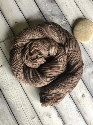 kettle dyed sock yarn