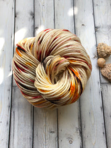 Hand Dyed Fall Yarn