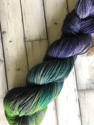 hand dyed yak yarn