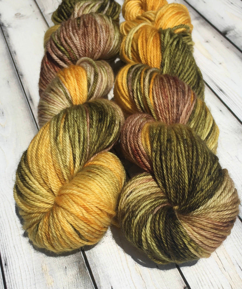 Worsted Weight Yarn - Allman Fall