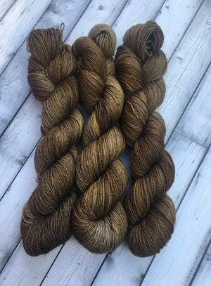 Sock Yarn - Brown on My Brown