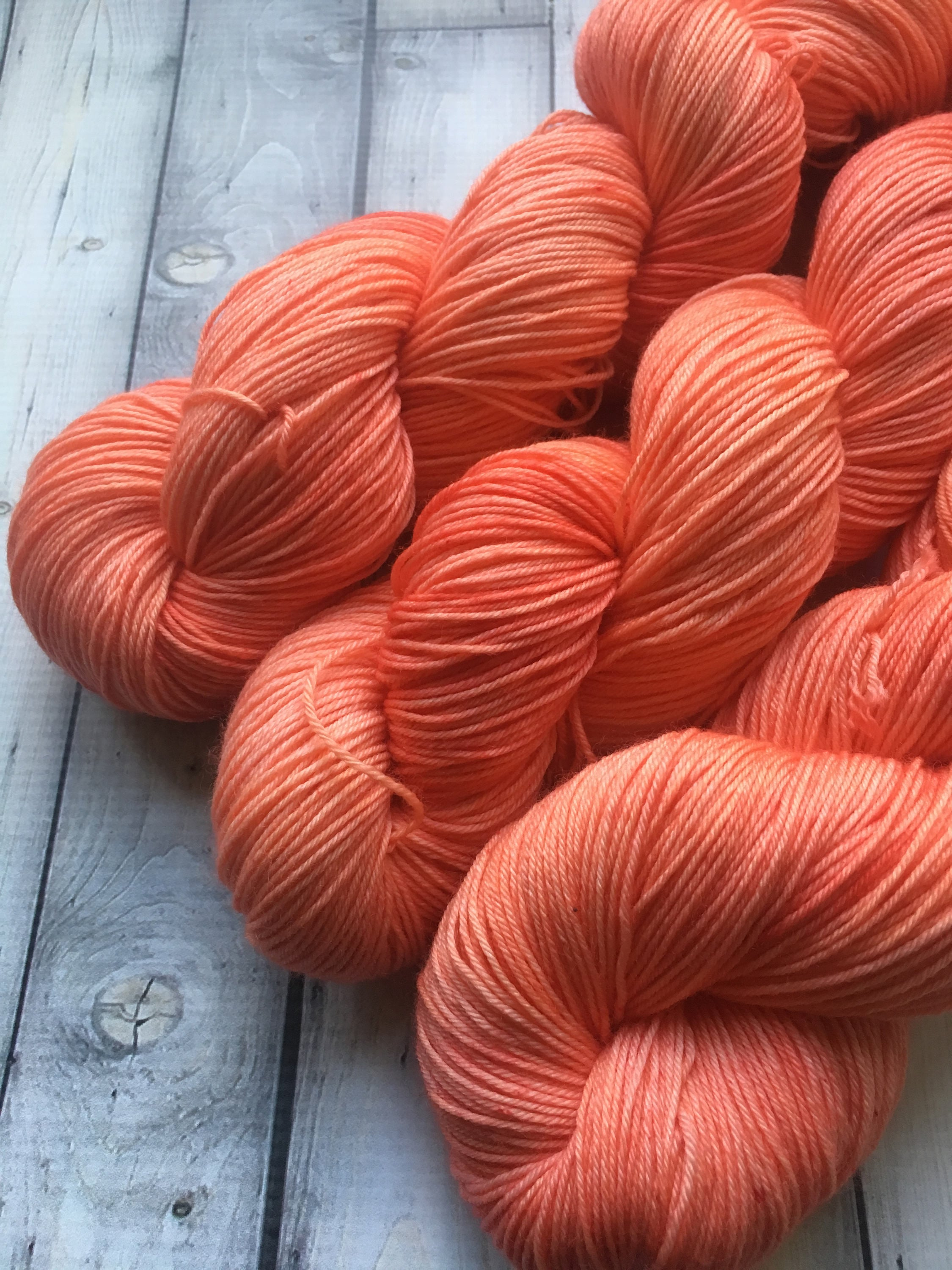 Sock Yarn - Salmon Flesh