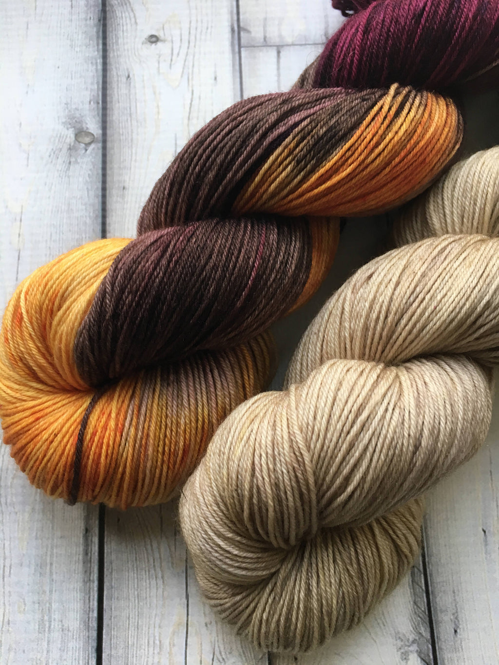 Sock Yarn Set - Guinevere Flaxen Waxen