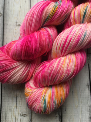 Sock Yarn - 3rd Clown from the Left - DJ Prime
