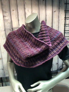 plum shoulder wrap