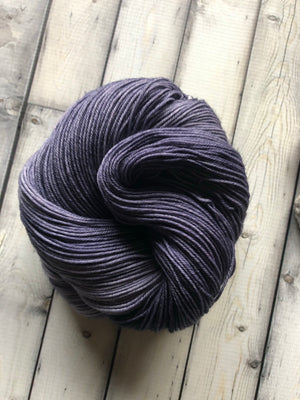 steel blue yarn