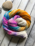 sock yarn with sparkles