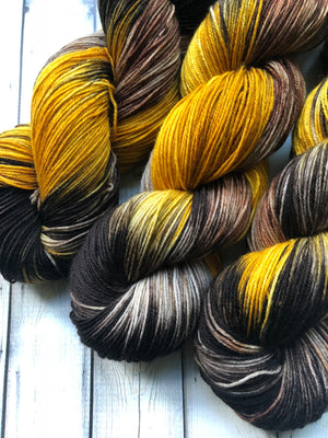 variegated fall sock yarn