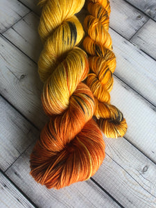 leopard sock yarn
