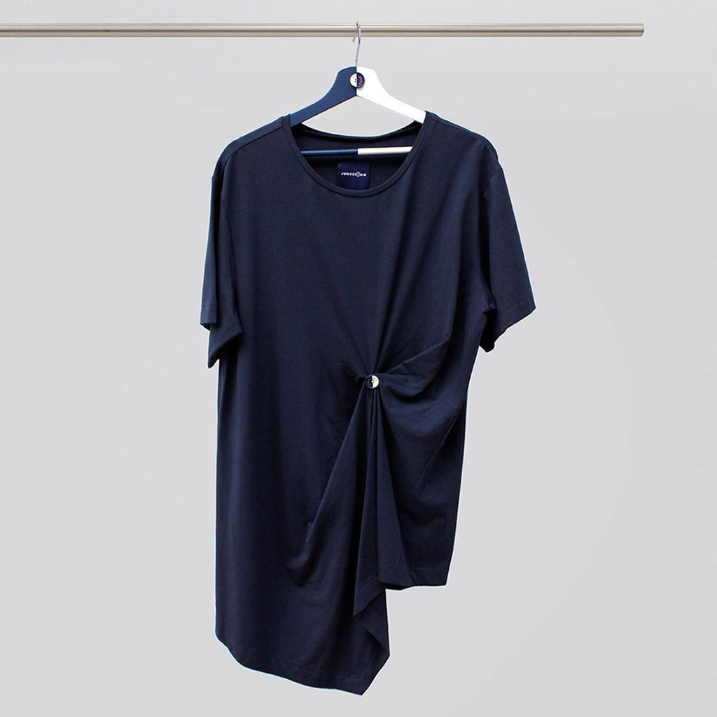 BUT-SHIRT Navy - JUNSEIWAN