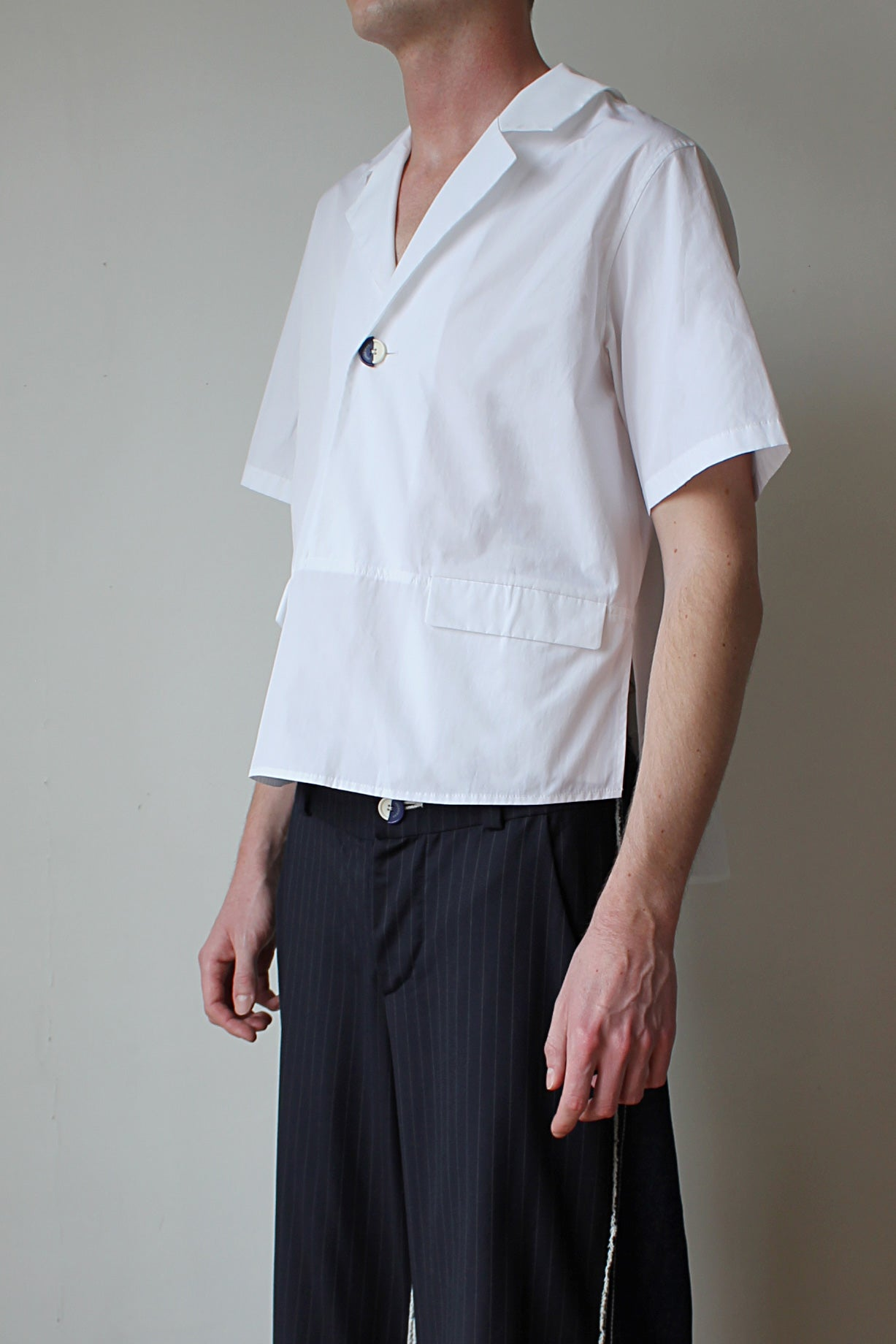 POLLY SHIRT Ivory - JUNSEIWAN