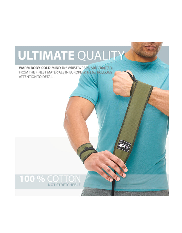 Cotton Wrist Wraps