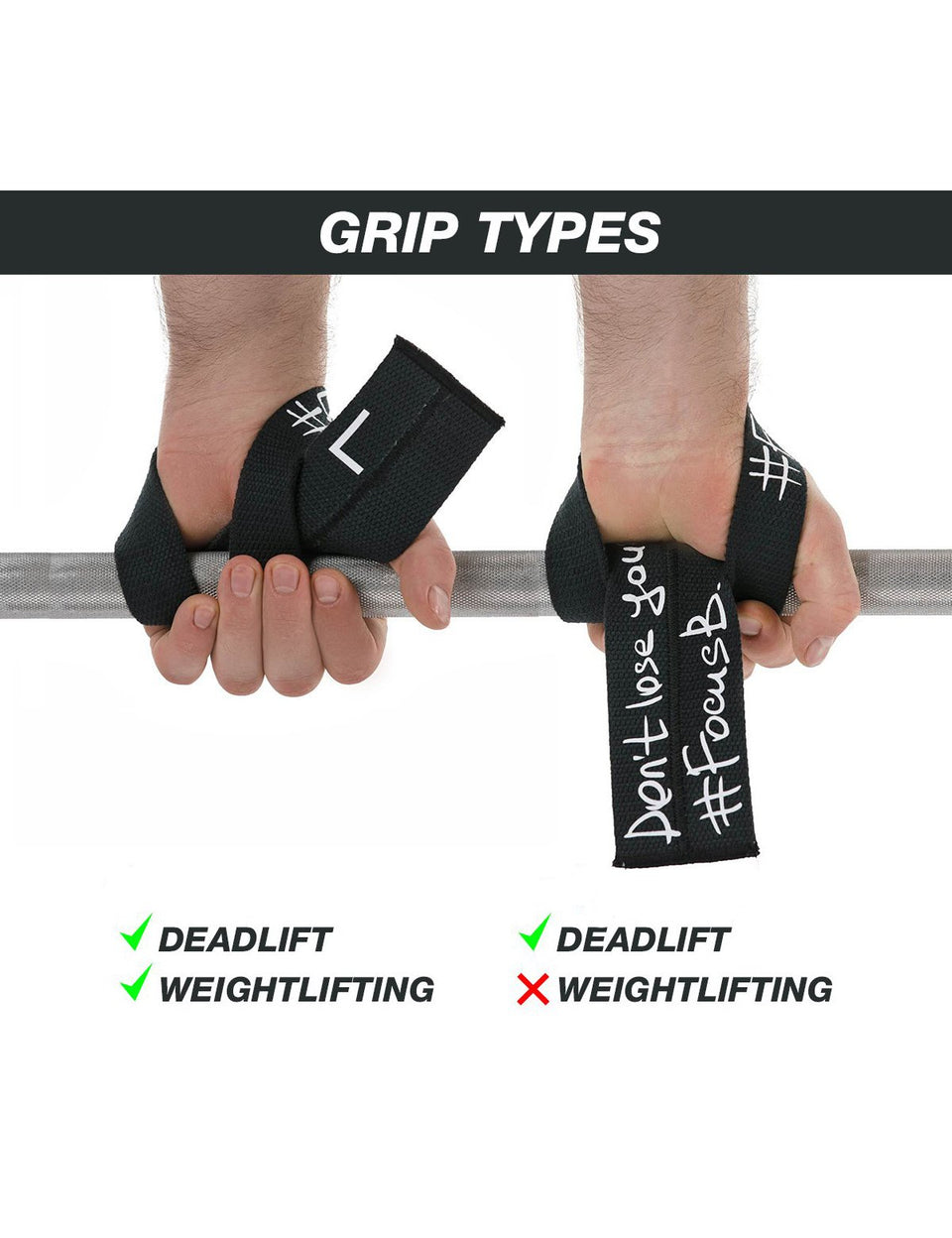 How to use lifting straps Deadlift