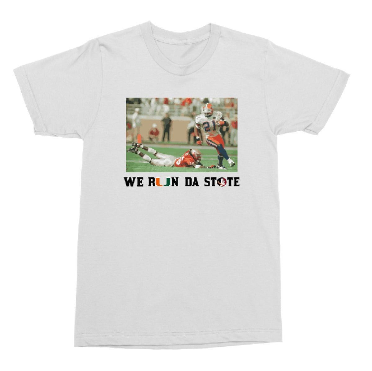"Legends Edition Tee : Fred Taylor ""We Run Da State"""