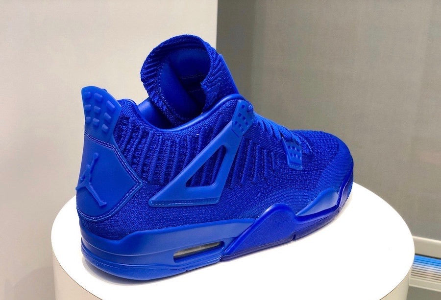 Jordan 4 Flyknit Royal Blue
