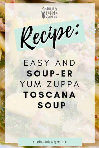 Pin it, Easy and soup-er yum Zuppa Toscana Soup