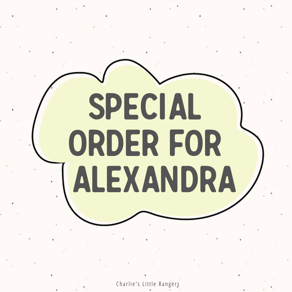 Special Order for Alexandra