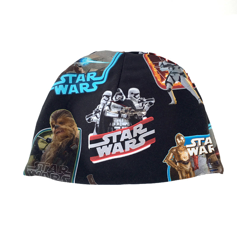 Star wars beanie with grey lining