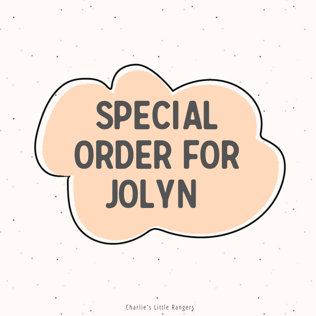 Special Order for Jolyn