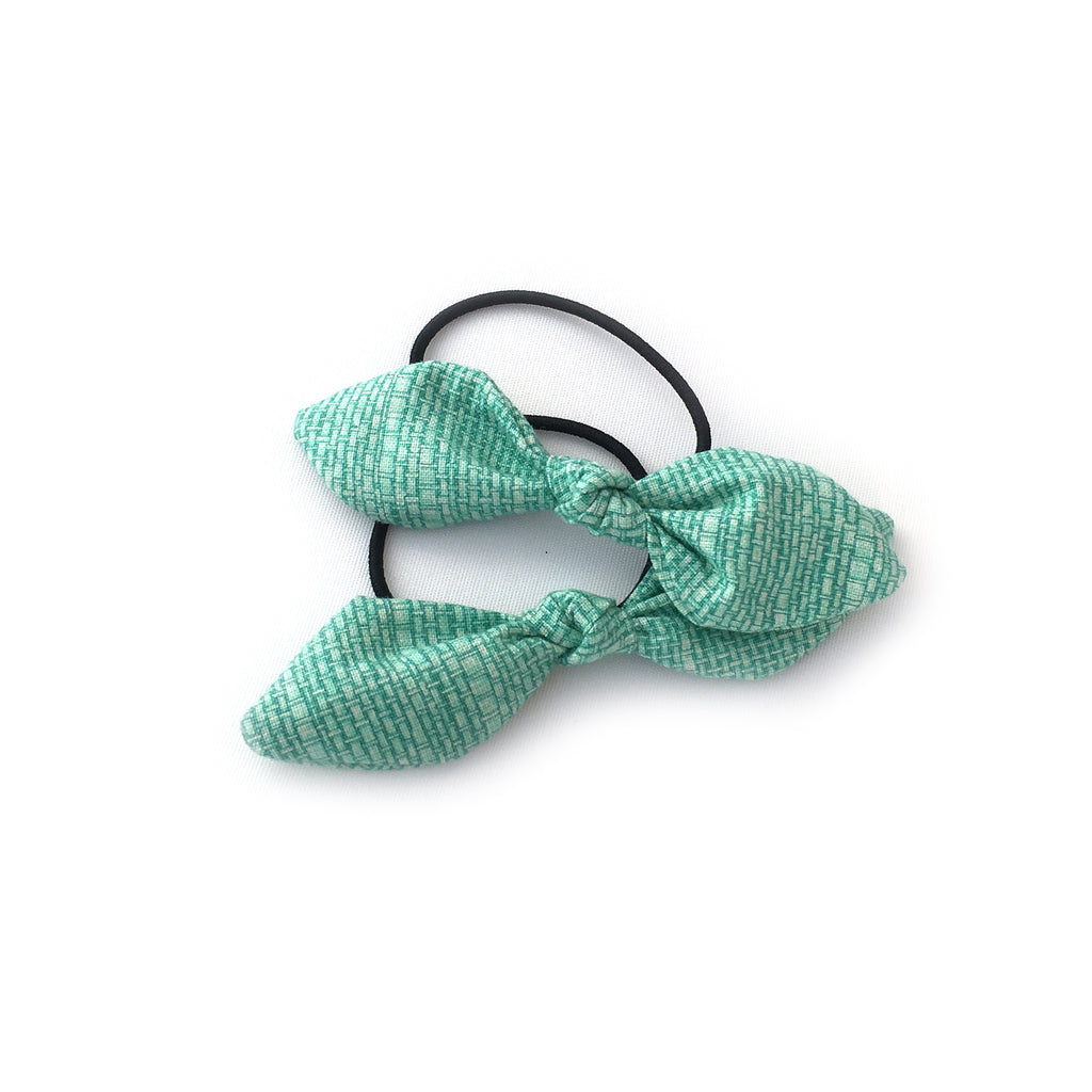 Hairtie | Light Green Bow