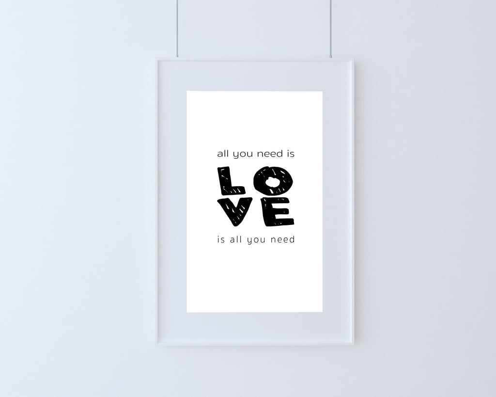 Poster | All you need is Love