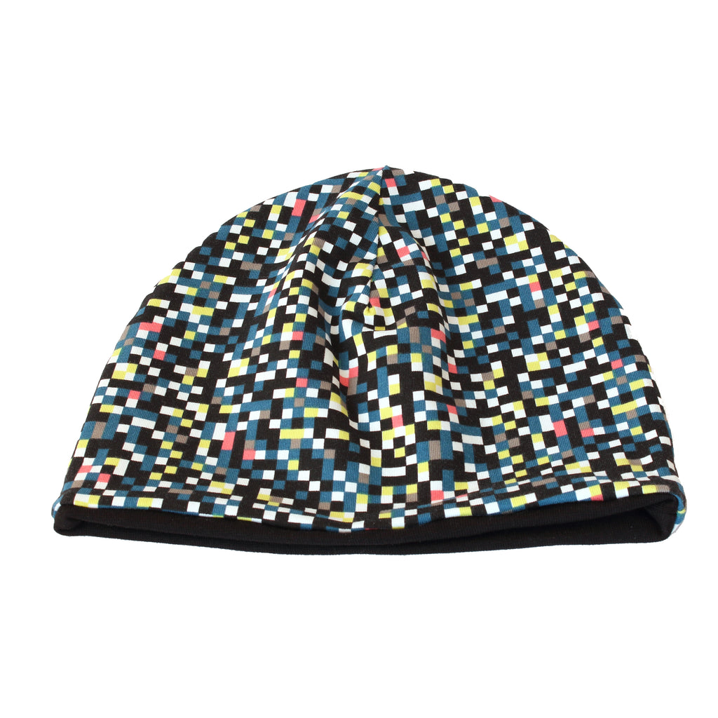 Beanie with pixels