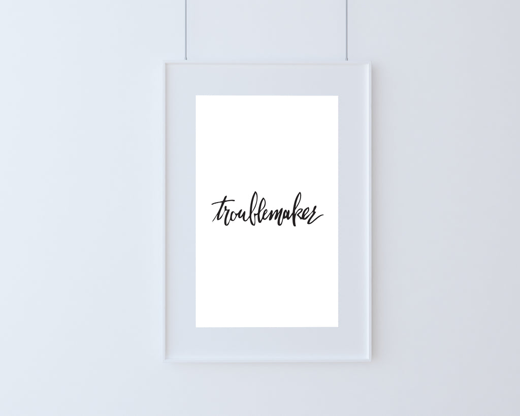 Poster | Troublemaker