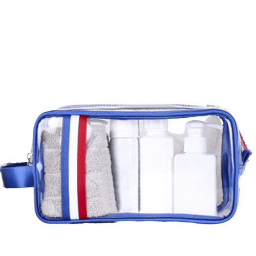 Trousse de toilette transparente france