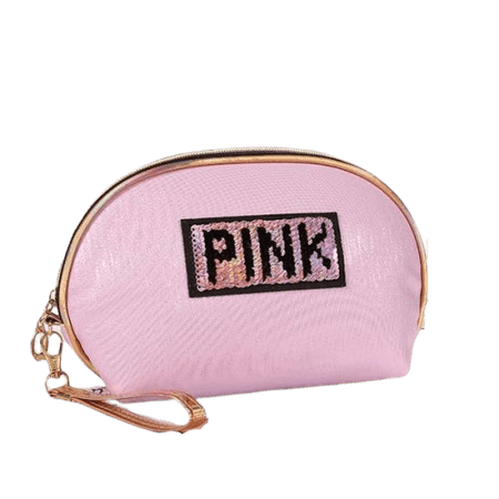 Trousse de maquillage fille rose