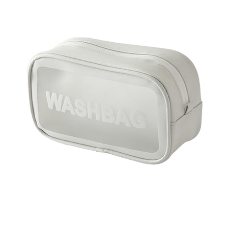 Trousse de toilette transparente washbag