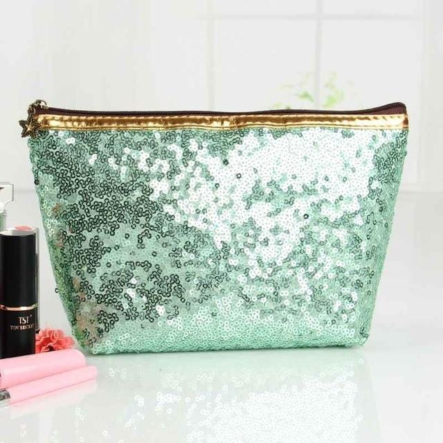 Trousse de maquillage paillette