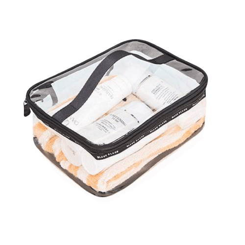 Trousse de toilette voyage transparente waterproof