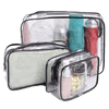 Trousse de toilette plastique transparent