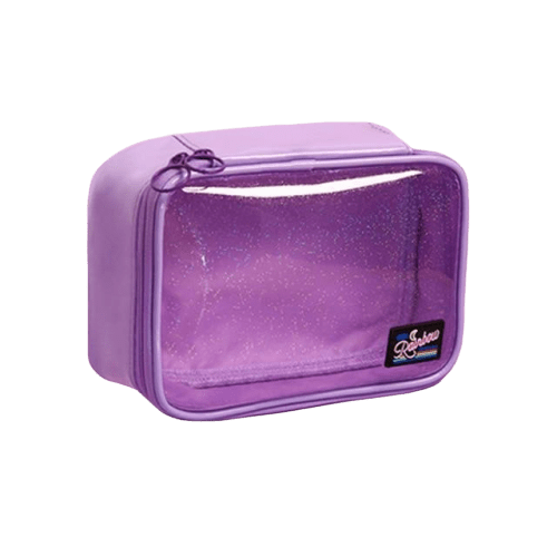 Trousse de toilette transparente pvc brillant