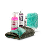 Matt Wash Kit - citrus pre-wash, matt shampoo, matt detailer, wash mitt and drying towel